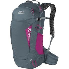 Jack Wolfskin Crosstrail 22 ST Backpack, storm grey